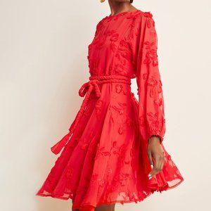 Anthropologie Amal Textured Mini Dress